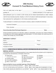 Free Emergency Contact Forms For Employees New Medical