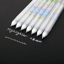 white paint pens highlight pen sketch markers marker gel for design comic manga bunnings