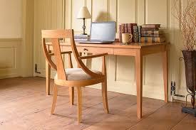 Wood desks for home office Simple Wood Natural Wood Desks Vermont Woods Studios Natural Wood Desks To Update Your Home Office Vermont Woods Studios