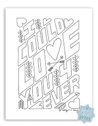 Love You Forever Free Coloring Page Tried True
