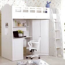 full image for charleston storage loft bed with desk white and pink carton 1 122 charming