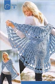 Crochet Shawl Patterns Free Vintage