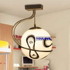 boys room lighting. Modern Football Droplights Boys Hanging Lamp Children Kids Bed Room Living Pendant Lights Fixture Lighting A
