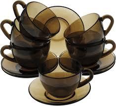 <b>Набор чайный Luminarc Симпли</b> Эклипс, J1261, коричневый, 220 ...
