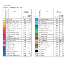 Faber Castell Classic Colored Pencils Color Chart Pin Oleh Sherry Parker Di Color Charts Color Pencils