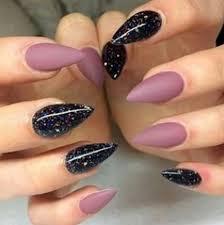 17 extravagant mauve nail manicures black galaxy sti nails with matte mauve