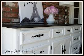 mary beth's place a classic black  white dresser