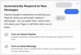Automatic Respond How To Automatically Respond To Messages On Facebook Bxb Media