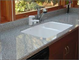 Granite Kitchen Sinks Undermount Kitchen Sink With Granite Counter Best Kitchen Ideas 2017
