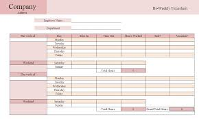 weekly time card printable weekly time sheets templates