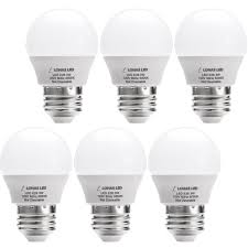 lohas led g14 light bulb 3w daylight white 5000k led bulbs 25 watt equivalent led lights for home e26 um base 6 pack e26