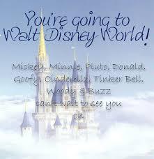 Disney Printable Trip And Event Invitations Free