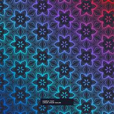 Abstract Patterns Awesome Abstract Dark Background With Flower Pattern Download Free Vector