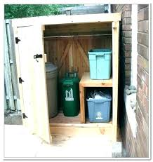 outside trash can storage outdoor garbage can storage home depot refuse storage shed outdoor garbage storage
