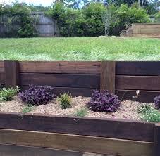 retaining wall fencescape fencing