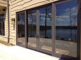 luxury large sliding glass door cost window covering with screen treatment dog blind canada