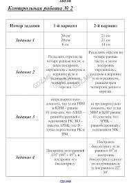 ГДЗ по геометрии класс Гаврилова контрольно измерительные  Итоговая контрольная работа Контрольная работа №1