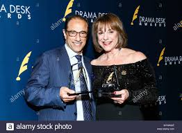 2019 Drama Desk Awards held at The Town Hall - Press Room Featuring: Hal  Luftig, Jana Robbins