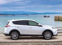 2017 Toyota RAV4 exterior, side view, white color, alloy wheels ...