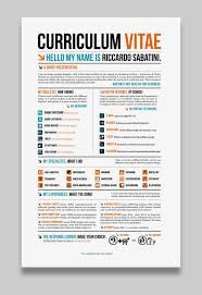 Awesome Graphic Design Resumes 17 Awesome Examples Of Creative Cvs Resumes Guru