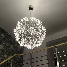 hang lighting. Modern Creative Spherical Dandelion LED Ceiling Lamp Pendant Light Hang Lighting Warm White 50cm / 12 Bulbs   EBay E