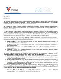 letter for volunteers voa co aims to stop trumps budget news releases