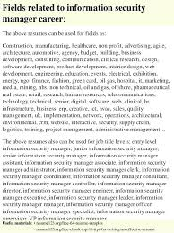 Perfect Decoration Security Manager Resume Information Security
