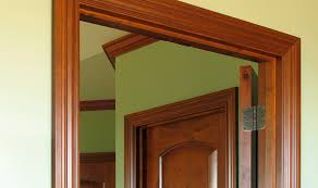 wood door frame design. Perfect Door Luxurious Hall Interior 3d Render On Wood Door Frame Design H