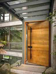 Solid Wood Contemporary Front Doors Uk Oak With Glass Wooden Solid Wood Contemporary Front Doors Uk