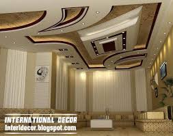 modern suspended ceiling for modern living room with attractive finish