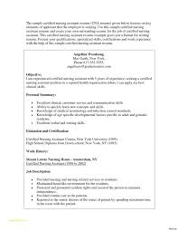 Free Resume Templates For High School Students With Cna Resumes 7