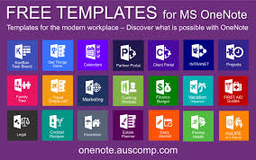 Onenote Templates 2013 Download Free Onenote Templates Solutions Kanban Gtd