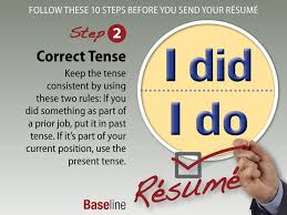 10 Things To Check Before You Send Your Resume