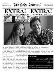 34 Best Wedding & Engagement Newspaper Templates Images On Pinterest ...