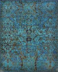 peacock color rug colours