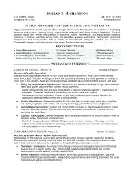 Project Manager Resume Objective Examples Sample Resume Templates