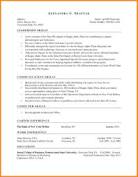 Experience Based Resume Format Template Free Download Marketing