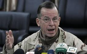 ... speaks during the press conference at a U.S base in Kabul, Photo: AP. By Toby Harnden in Washington. 6:39PM GMT 02 Feb 2010. Admiral Michael Mullen, the ... - Mike_mullen_1209917c