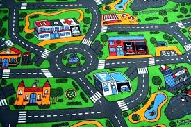 play carpet for cars kids rugs with roads car rug mat road map new city track