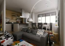 White Furniture Living Room For Apartments Living Small Room Ideas Three Modern Apartments A Trio Of