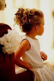Nouveaut De Coiffure Mariage Petite Fille C R Monie Pour Une