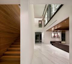 ambiance interior design. Exterior, Creative Ideas For Interior Decoration With Wooden Stairs Hidden Behind Of White Wall Give Ambiance Design