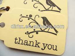 thank you tags for wedding favors thank you tags bird bird thank you favor tags wedding favor hang