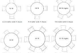 full size of round table seats 6 diameter 8 ft how many people can sit at