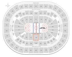 Washington Capitals Capital One Arena Seating Chart