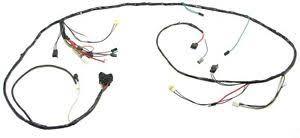 1969 camaro wiring harness 1969 camaro headlight wiring harness v8 w warning lights