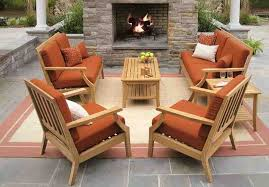 Brilliant Teak Deck Furniture Smith And Hawken Teak Patio