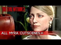 The Evil Within 2   All Myra Hanson Cutscenes 【1080p HD】 - YouTube