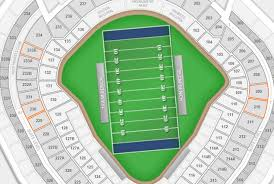Yankee Stadium Seating Chart Football Games Section 108 Or 208 For Better Views Of Football At Yankee