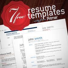 7 free creative resumes templates cute resume templates
